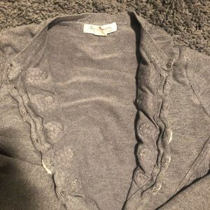 Forever 21 Sweaters - Gray nautical sweater size large